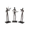 Woodland Imports The ing Aluminum Wood Musician 3 Assorted
