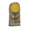Woodland Imports Lovely and Attractive Solar Garden Stone Statue