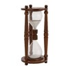 <strong>The Cool Wood Glass Sand Timer</strong> by Woodland Imports