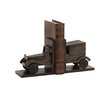 <strong>Woodland Imports</strong> Classy Wood Car Book Ends (Set of 2)