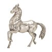 Woodland Imports The Lifelike Aluminum Horse Statue