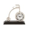 Woodland Imports The Cute Metal Cycle Table Clock