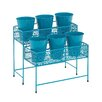 <strong>Metal 2 Tier Rectangular Plant Stand Pedestals</strong> by Woodland Imports