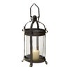 <strong>Woodland Imports</strong> Innovative Styled Wonderful Metal Glass Lantern