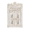 Woodland Imports Fascinating Styled Antique Wood Wall Mirror