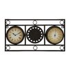 <strong>The Accurate Metal Clock Thermometer</strong> by Woodland Imports