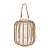 <strong>Wood / Glass Lantern</strong> by Woodland Imports