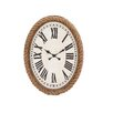<strong>Woodland Imports</strong> Fascinating Wood Rowall Clock