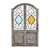Woodland Imports Supreme Wood / Metal and Glass Wall Décor