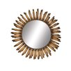 <strong>Woodland Imports</strong> Radiating Metal Wall Mirror