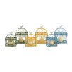 <strong>Woodland Imports</strong> 6 Piece The Intricate Metal Lantern Set