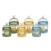Woodland Imports 6 Piece Metal Lantern Set
