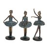 Woodland Imports 3 Piece Loveliest Polystone Dancers Figurine Set