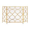 Woodland Imports Metal Fireplace Screen