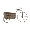 Woodland Imports Attractive Metal / Wood Tricycle Planter