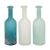 <strong>Woodland Imports</strong> The Glass Vase (Set of 3)