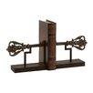 <strong>Woodland Imports</strong> Wonderful Customary Metal Iron Book Ends (Set of 2)