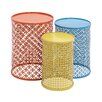 <strong>3 Piece Colorful End Tables Set</strong> by Woodland Imports