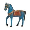 Woodland Imports Exclusive Unique Styled Wood Painted Horse Statue