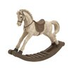 <strong>Woodland Imports</strong> The Lifelike Polystone Rocking Horse Figurine