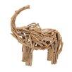 Woodland Imports Impactful Driftwood Elephant Figurine