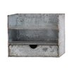 Woodland Imports Classy Awestruck Metal Wall Shelf