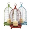 Woodland Imports The Distinctive Metal Lantern (Set of 3)