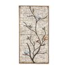 Woodland Imports Attractive Metal Wall Panel