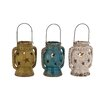 <strong>The Exquisite Ceramic Lantern Set (Set of 3)</strong> by Woodland Imports