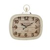 Woodland Imports Attractive Metal Wall Clock
