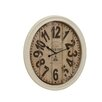 Woodland Imports Buckingham Contemporary Styled Metal Wall Clock