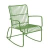 <strong>The Metal Rocking Chair</strong> by Woodland Imports