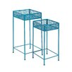 Woodland Imports 2 Piece Plant Stand Set