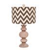 "Woodland Imports Styled 26"" H Table Lamp with Drum Shade"
