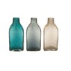 <strong>Woodland Imports</strong> Lovely Glass Bottle Vase (Set of 3)