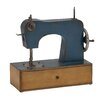 Woodland Imports Antique Styled Metal Sewing Machine Décor Sculpture