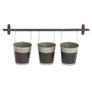 Woodland Imports Classy and Trendy Metal Wall Planter