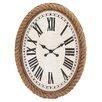 <strong>Fascinating Wood Rowall Clock</strong> by Woodland Imports