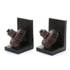 Woodland Imports Rusted Gear Book End II (Set of 2)