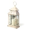 Woodland Imports Metal Glass Lantern