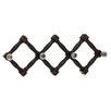 Woodland Imports Cool and Distinctive Wood Glass Wall Hook