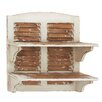 <strong>Double Decker Cool Wood Wall Shelf</strong> by Woodland Imports