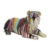 Woodland Imports Cute and Colorful Polystone Bulldog Statue
