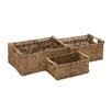 Woodland Imports 3 Piece Nature's Seagrass Basket Set