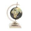 Woodland Imports Captivating Aluminum World Globe