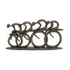 Woodland Imports Polystone Racing Bicyclers Figurine