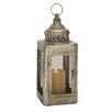 Woodland Imports Metal Candle Lantern