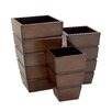 Woodland Imports 3 Piece Planter Set