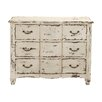 Woodland Imports Coolly Rustic Wood 6 Drawer Chest