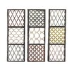 Woodland Imports 3 Piece Priceless Metal Wall Décor Set